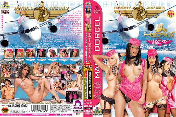 [DSD466] Dream Dorcel Airlines – Flight Attendants' Free Orgasm Service