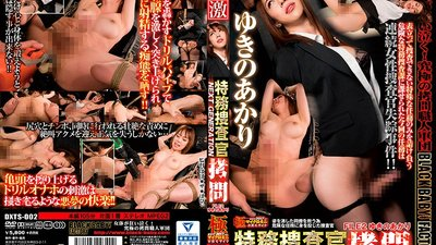 DXTS-002 Torture Of The Special Investigator NEXT GENERATION FILE 2 Akari Yukino